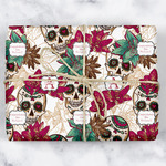 Sugar Skulls & Flowers Wrapping Paper (Personalized)