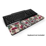 Sugar Skulls & Flowers Keyboard Wrist Rest (Personalized)