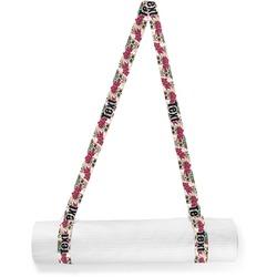 Sugar Skulls & Flowers Yoga Mat Strap (Personalized)