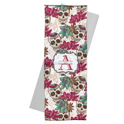 Sugar Skulls & Flowers Yoga Mat Towel (Personalized)