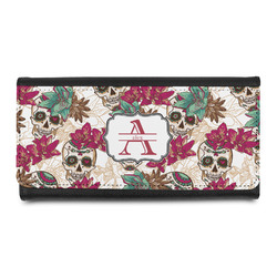 Sugar Skulls & Flowers Leatherette Ladies Wallet (Personalized)