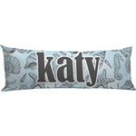 Sea-blue Seashells Body Pillow Case (Personalized)