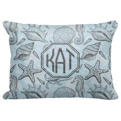 Sea-blue Seashells Decorative Baby Pillowcase - 16
