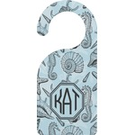 Sea-blue Seashells Door Hanger (Personalized)