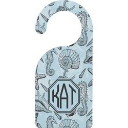 Sea-blue Seashells Door Hanger (Personalized)
