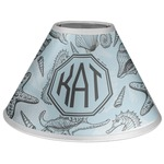 Sea-blue Seashells Coolie Lamp Shade (Personalized)