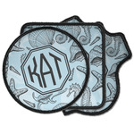 Sea-blue Seashells Iron on Patches (Personalized)