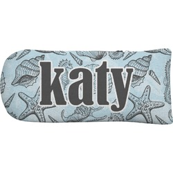 Sea-blue Seashells Putter Cover (Personalized)