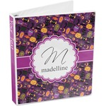 Halloween 3-Ring Binder (Personalized)