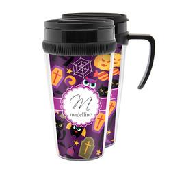 Halloween Acrylic Travel Mugs (Personalized)