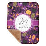 "Halloween Sherpa Baby Blanket 30"" x 40"" (Personalized)"