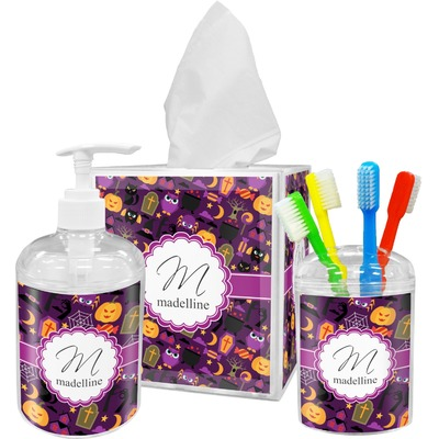 Halloween Bathroom Accessories Set (Personalized)