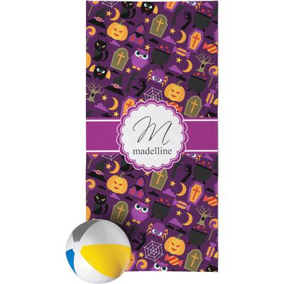 Halloween Beach Towel (Personalized)