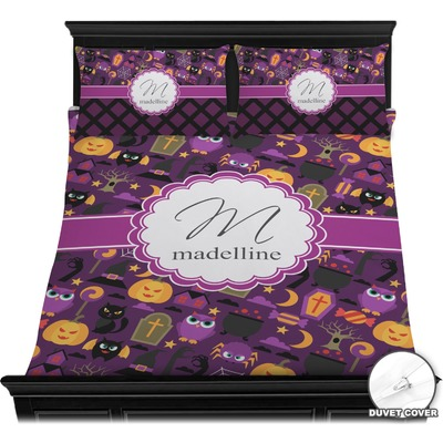 Halloween Duvet Cover Set - Full / Queen (Personalized)