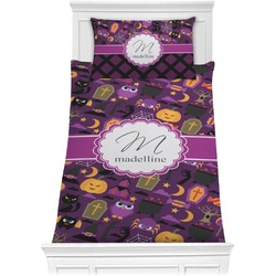 Halloween Comforter Set - Twin XL (Personalized)