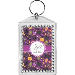 Halloween Bling Keychain (Personalized)