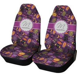 Halloween Car Seat Covers (Set of Two) (Personalized)