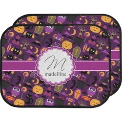Halloween Car Floor Mats (Back Seat) (Personalized)
