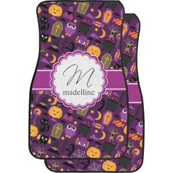Halloween Car Floor Mats (Front Seat) (Personalized)