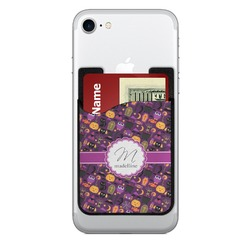 Halloween 2-in-1 Cell Phone Credit Card Holder & Screen Cleaner (Personalized)