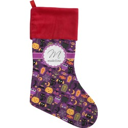 Halloween Christmas Stocking (Personalized)