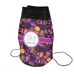 Halloween Neoprene Drawstring Backpack (Personalized)