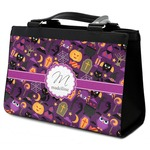 Halloween Classic Tote Purse w/ Leather Trim (Personalized)