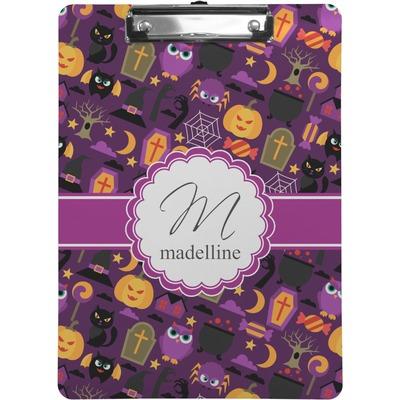 Halloween Clipboard (Personalized)