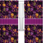 Halloween Curtains (2 Panels Per Set) (Personalized)