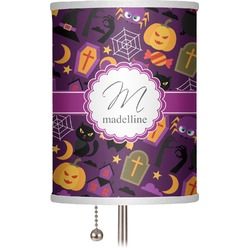 """Halloween 7"""" Drum Lamp Shade (Personalized)"""