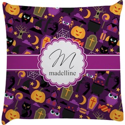 Halloween Decorative Pillow Case (Personalized)