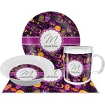 Halloween Dinner Set - 4 Pc (Personalized)