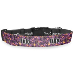 """Halloween Deluxe Dog Collar - Toy (6"""" to 8.5"""") (Personalized)"""