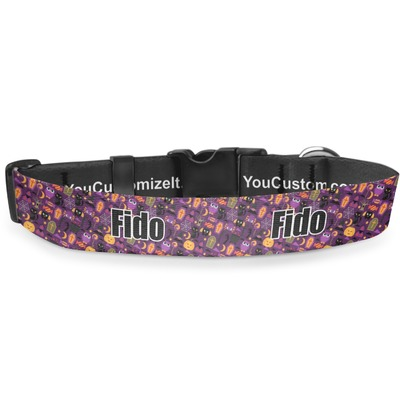 Halloween Deluxe Dog Collar (Personalized)