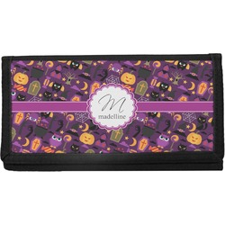 Halloween Canvas Checkbook Cover (Personalized)
