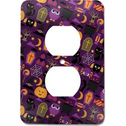 Halloween Electric Outlet Plate (Personalized)