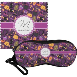 Halloween Eyeglass Case & Cloth (Personalized)