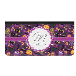 Halloween Genuine Leather Checkbook Cover (Personalized)