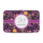 Halloween Genuine Leather Small Framed Wallet (Personalized)