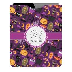 Halloween Genuine Leather iPad Sleeve (Personalized)