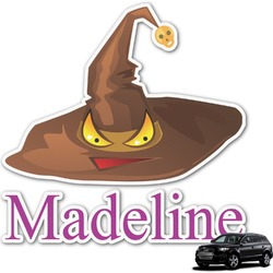 Halloween Graphic Car Decal (Personalized)