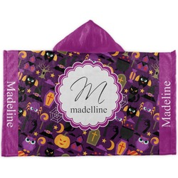 Halloween Kids Hooded Towel (Personalized)