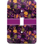 Halloween Light Switch Cover (Single Toggle) (Personalized)