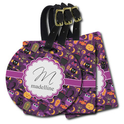 Halloween Plastic Luggage Tags (Personalized)