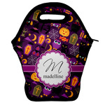 Halloween Lunch Bag w/ Name and Initial