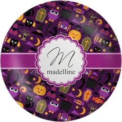 Halloween Melamine Plate (Personalized)