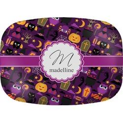Halloween Melamine Platter (Personalized)