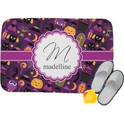Halloween Memory Foam Bath Mat (Personalized)