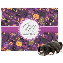Halloween Dog Blanket (Personalized)
