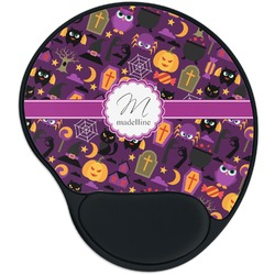 Halloween Mouse Pad with Wrist Support